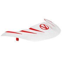 Virtue VIO Stealth Visor Red White