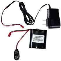 Boost Custom 10.6 Volt 750 mah Lithium Ion Halo Battery and Charger