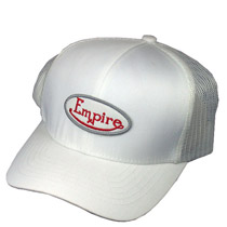 Empire Hat White Adjustable