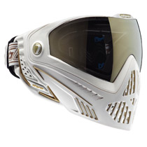 Dye I5 Thermal Paintball Goggles White Gold