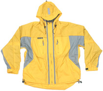 Empire Tech Jacket Yellow/Grey - Large