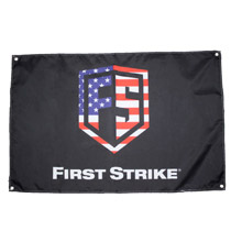 First Strike 'Merica Flag Banner