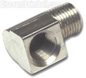 90 Degree Elbow Nickel Plated