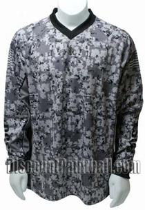 PCS Paintball Jersey Digital Urban Camo - Large