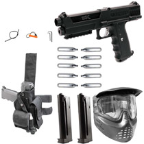 Tippmann TiPX Paintball Pistol Vanguard Package - Black