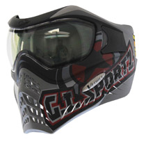 VForce Grill Paintball Mask SE Thermal GI Logo Charcoal