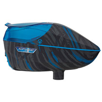 Virtue Spire 260 Paintball Hopper Graphic Cyan