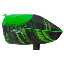 Virtue Spire 260 Paintball Hopper Graphic Lime
