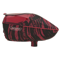 Virtue Spire 260 Paintball Hopper Graphic Red