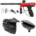 Proto Rail Paintball Marker Combo - Red Dust