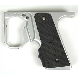 Benchmark Autococker 99 Double Trigger 45 Grip Frame - Silver Dust