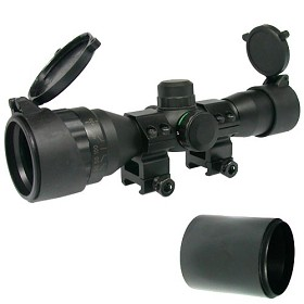 Tiberius Arms Scope 4X32 Dual Illumination