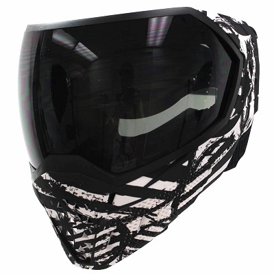 Empire EVS Thermal Paintball Mask LE White Zebra