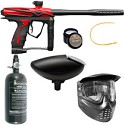 GOG eXTCy Paintball Gun With Blackheart Board Red Package A