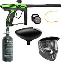 GOG eXTCy Paintball Gun With Blackheart Board Freak Green Package A