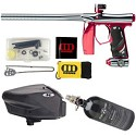 Invert Mini Paintball Gun - Polished Red/Grey Special Edition Package D