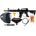JT Tactical Ready To Play Paintball Package - Black