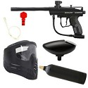 Spyder Aggressor Paintball Marker Refurbished Package Black