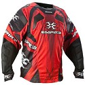 Empire 2012 Contact LTD TW Paintball Jersey Glass Red