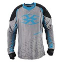 Empire 2015 Contact F5 Paintball Jersey Grey/Blue