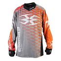 Empire 2015 Contact Zero F5 Paintball Jersey Grey/Orange