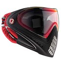 Dye I4 Thermal Paintball Goggles 2016 Dirty Bird Red Black