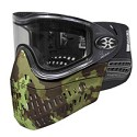 Empire E-Flex Thermal Paintball Mask Black with Terrapat Gen2 Bottom
