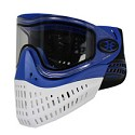 Empire E-Flex Thermal Paintball Mask Blue with Blue / White Bottom