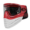 Empire E-Flex Thermal Paintball Mask Red with Red / White Bottom