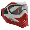 VForce Grill Paintball Mask SC Thermal White/Red