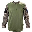 BT 08 Professional Paintball Jersey Woodland Digital Camo XXL