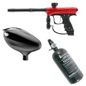 Dye / Proto Rize Paintball Marker Rookie Package Red Dust