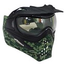 VForce Grill Paintball Mask Thermal  SE Jungle Camo Green