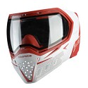 Empire EVS Thermal Paintball Goggles White Red