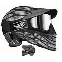 JT Flex 8 Full Thermal Paintball Goggles Cover Gray