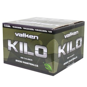 Valken Kilo Paintballs 2000 Rounds Yellow Fill