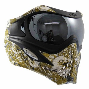 VForce Grill Paintball Mask SE Thermal Eagle Eye Gold