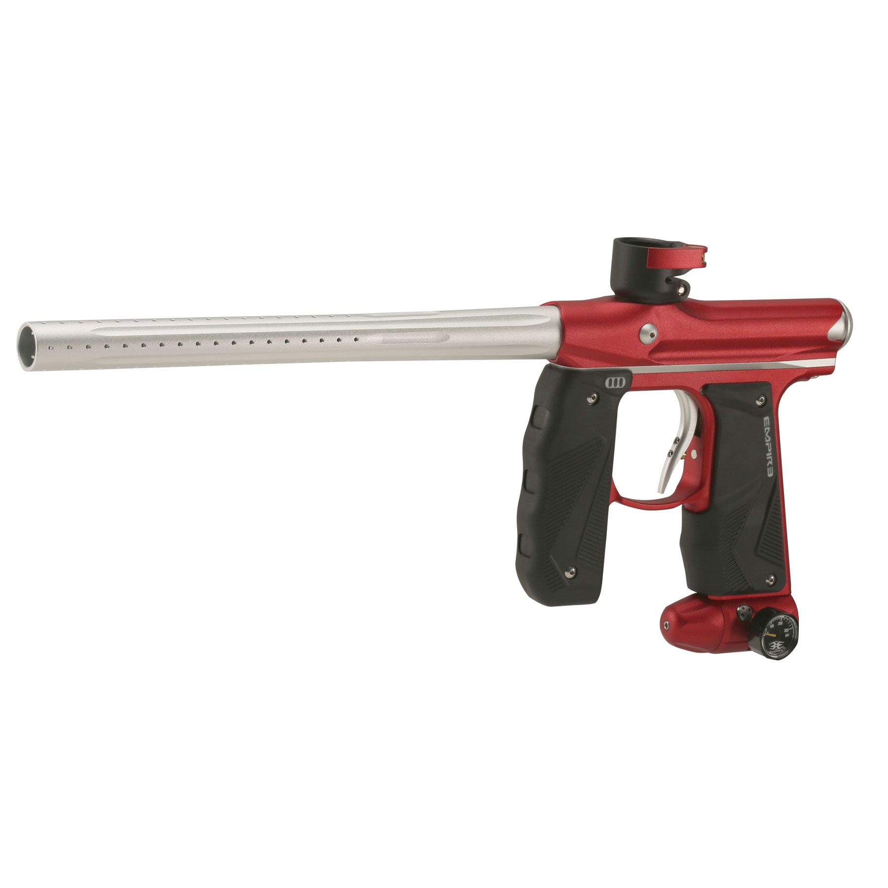 Empire Mini Gs Paintball Gun Dust Red Silver