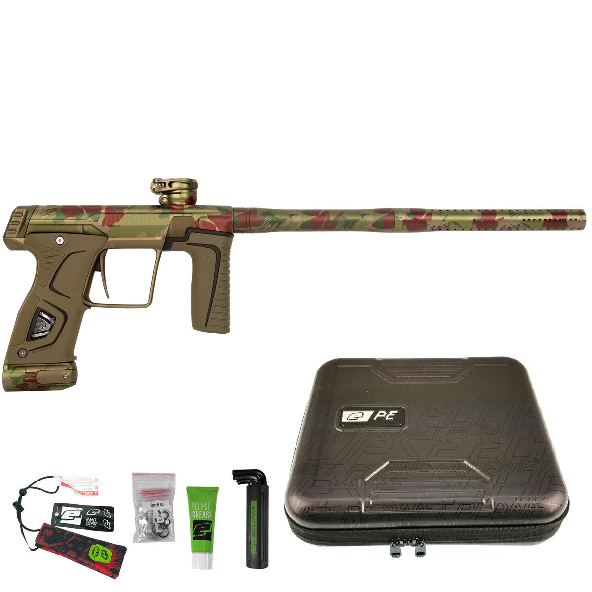 Planet Eclipse Gtek 170R Paintball Marker Predator Camo