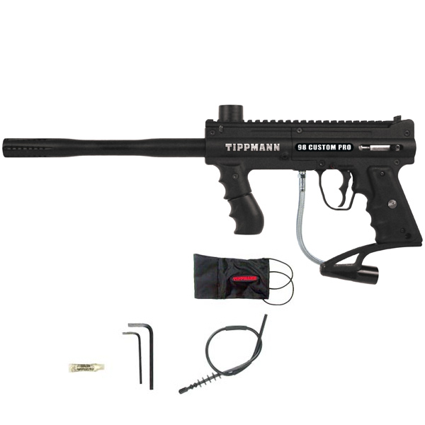Tippmann 98 Custom Pro ACT Platinum Series Paintball Gun Black