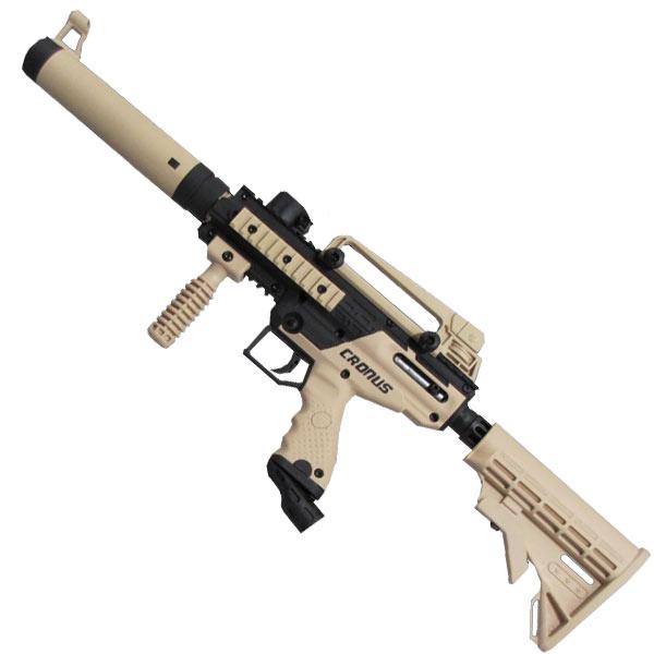 Tippmann Cronus Tactical Paintball Gun Tan / Black Paintball Guns Tippmann