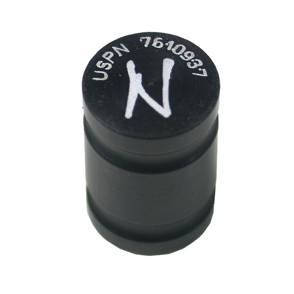 Ninja Paintball Magnetic Dust Cap Black