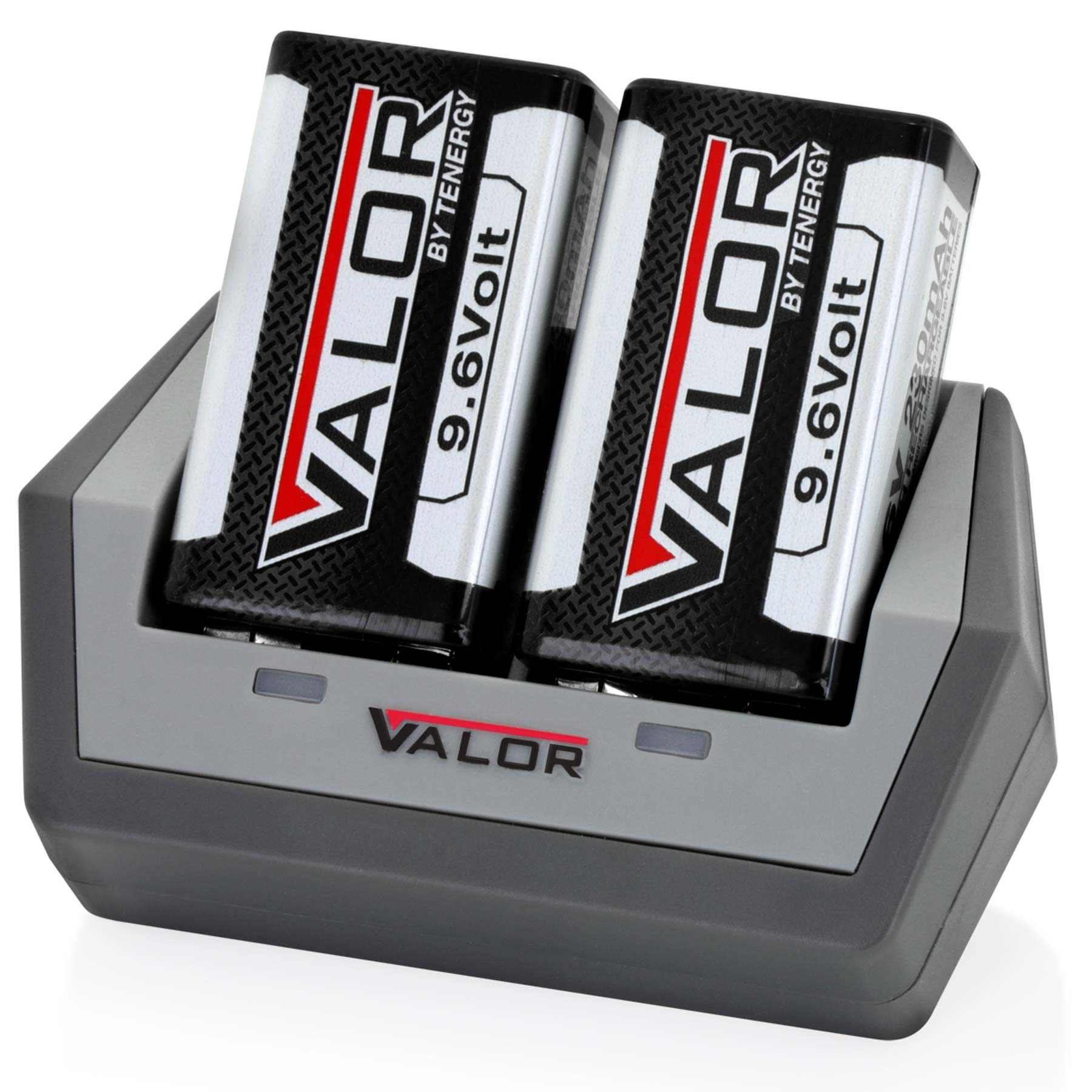 Tenergy Valor 9.6V NiMH Rechargeable Battery Kit with Charger and 2X Batteries