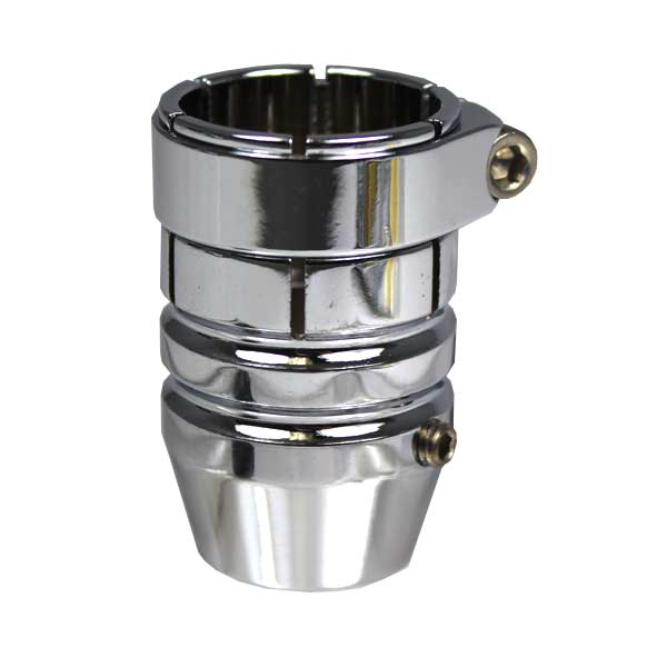 Check It Paintball Spyder Sure Fit Feed Adaptor Chrome