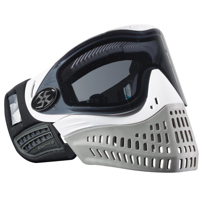* Nouveau Empire E-flex le Paintball Masque-Blanc//Gris