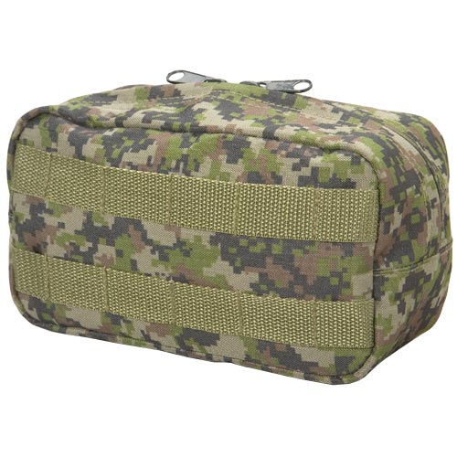 BT 08 Paintball Zipper Pouch Molle Woodland Digital Camo
