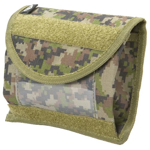 BT 08 Paintball Universal ID Pouch Molle Woodland Digital Camo
