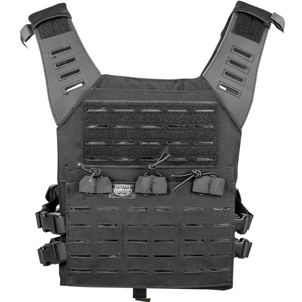 Valken Plate Carrier LC w Mag Pouches Black