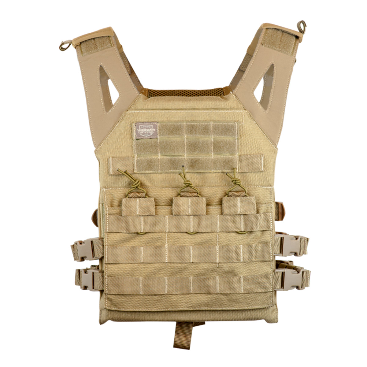 Valken Plate Carrier II Paintball Vest Tan