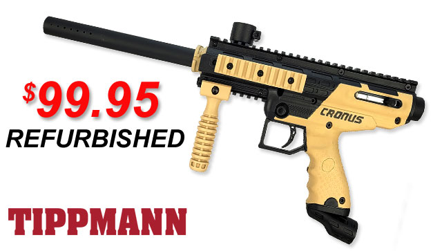 Refurbished paintball markers Tippmann